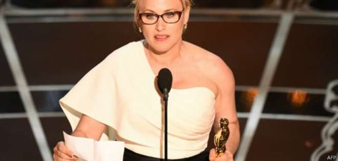 Patricia Arquette ganó el Oscar por su rol de una madre divorciada a cargo de trabajar y criar a sus dos hijos en Boyhood.
