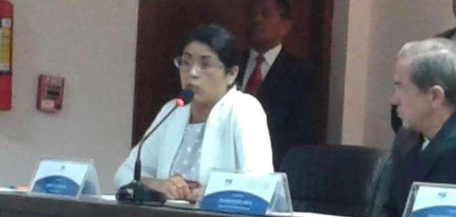 Mónica Castillejos, fiscal mexicana que se encargó del caso, relató todo lo vivido por Noemí y dio detalles de la investigación. Foto: Fiscalía.