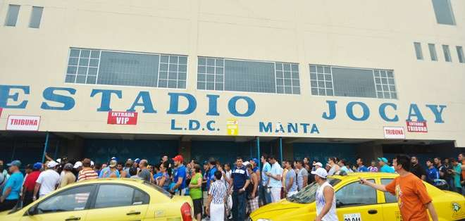 Se espera que el Jocay esté lleno esta noche. Foto: Diario El Telégrafo.