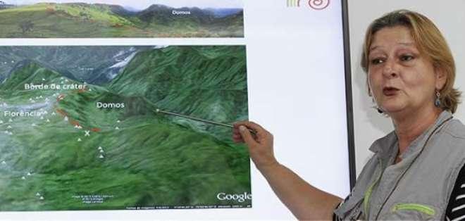 Descubren en el centro de Colombia un volcán potencialmente peligroso