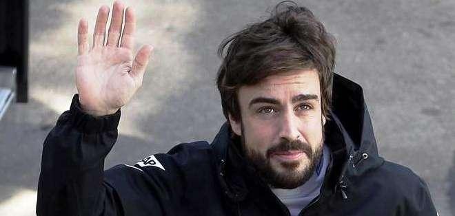 Fernando Alonso, previo a su accidente (Foto: EFE)