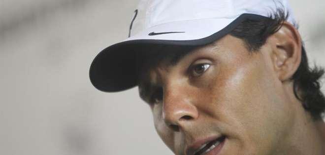 El español perdió un puesto en el ranking de la ATP y ahora es cuarto en el mundo (Foto: EFE)