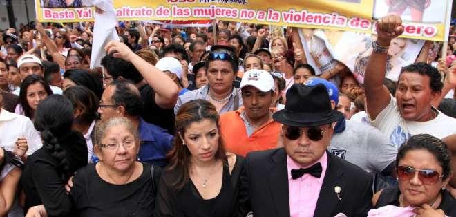 A la audiencia no llegó Geovanny López, vino únicamente el equipo de abogados que lo representa.