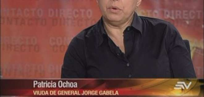 La justicia desechó el recurso de hábeas data presentado por la viuda de Gabela, Patricia Ochoa.