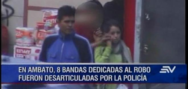 Los adultos fueron puestos a órdenes de las autoridades, mientras que los menores de edad por su condición fueron liberados.