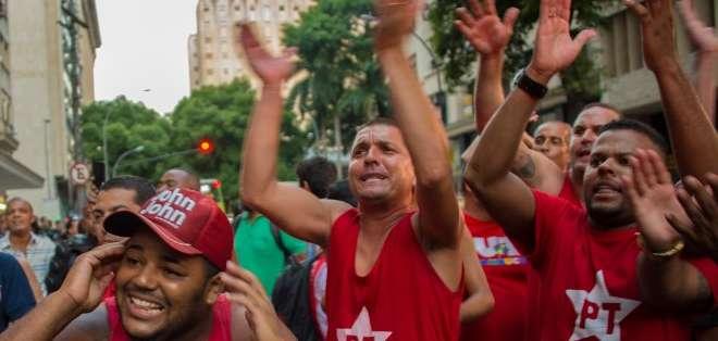 """BRASIL. """"Defender Petrobras es defender a Brasil, a los trabajadores, a la democracia y defender la continuidad del proceso"""