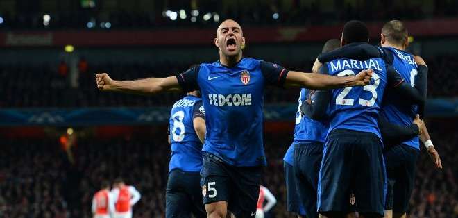 El Mónaco encamina la eliminatoria a su favor. Foto: AFP.