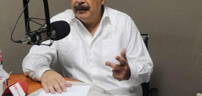 GUAYAQUIL, Ecuador.- El burgomaestre considera que el calificativo presidencial no constituye afrenta alguna. Foto: Archivo