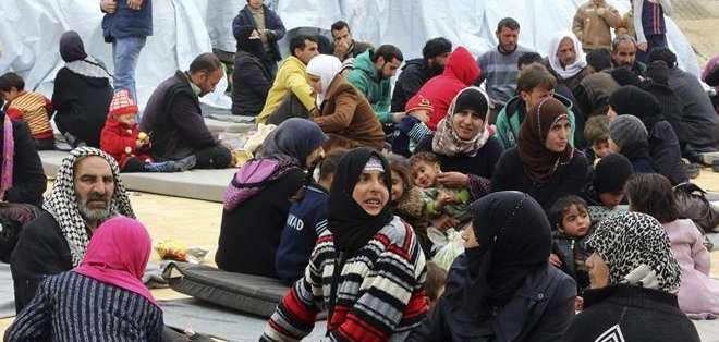 Los yihadistas han secuestrado a 90 cristianos de la comunidad asiria en la provincia de Hasake. Foto: AFP.