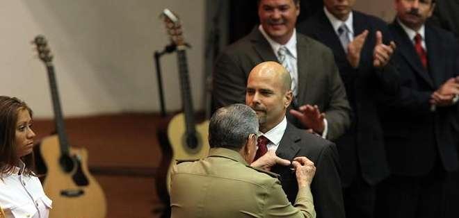 Uno de los cinco agentes, Gerardo Hernández, cumplía una pena por hasta dos cadenas perpetuas en EE.UU. Foto: EFE.