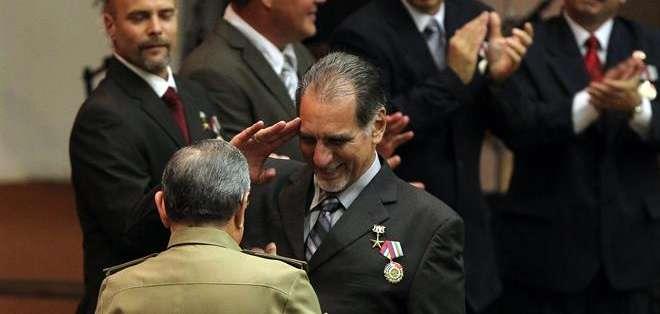 """Los """"Cinco Héroes Antiterroristas"""", como se les conoce en Cuba a estos agentes, fueron detenidos en 1998 en Estados Unidos. Foto: EFE."""