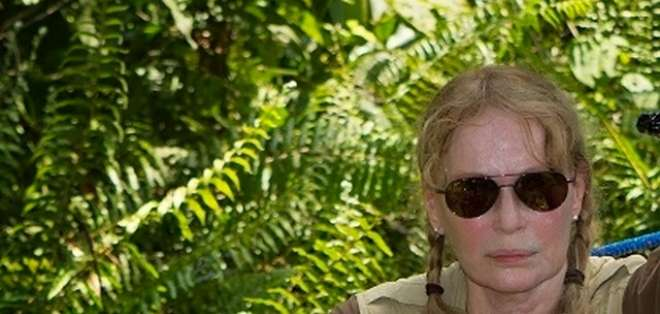 La actriz estadounidense Mia Farrow visitó en enero del 2014 la zona del pozo 'Aguarico 4', en la provincia de Sucumbíos.