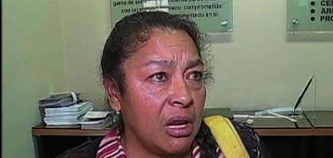 Gladys Chicaiza asegura que el monto de sus ahorros es muy superior a lo que están entregando.