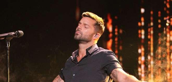 Ricky Martin, de 43 años, ha vendido millones de copias de discos y ha ganado numerosos premios Grammy, Billboard y MTV. Fotos: AFP