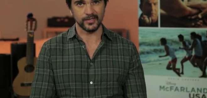 EE.UU.- Juanes está listo para su presentación en vivo del Victoria's Secret Swim Special. Fotos: Victoria's Sec