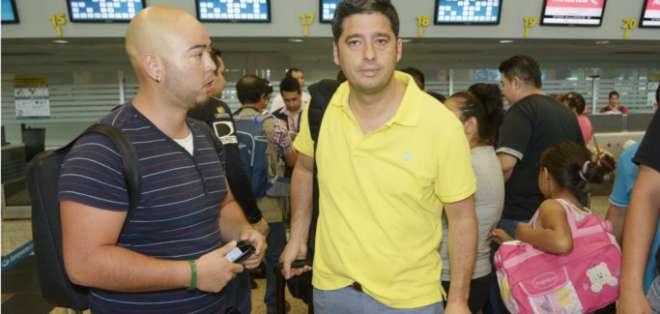 El dirigente dijo que no pasa por el DT la situación de Barcelona. Foto: API.