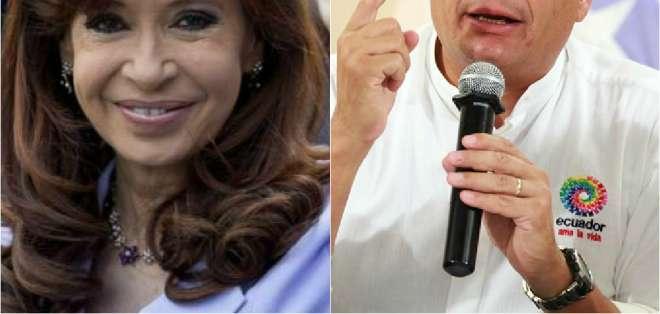 ECUADOR.- Según el mandatario, el proceso era parte de un plan de fuerzas de oposición contra la izquierda. Collage: Ecuavisa