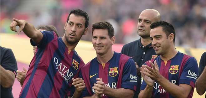 Busquets asegurado en Barcelona hasta el 2019. Foto: AFP.