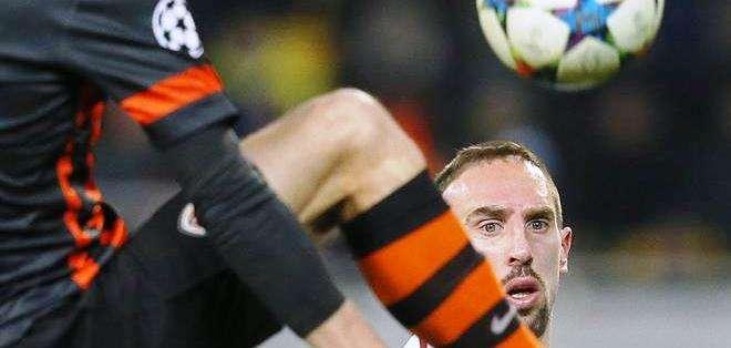 Ribéry no podrá jugar por la selección alemana en el caso de naturalizarse (Foto: EFE)