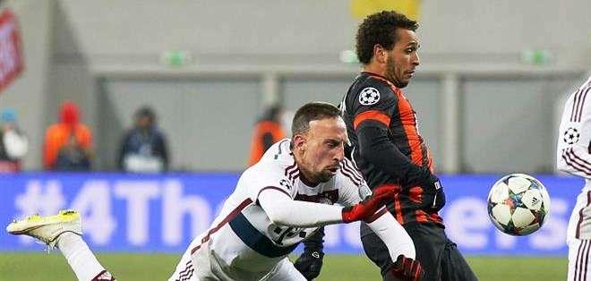 Ribéry es uno de los principales jugadores del Bayern (Foto: EFE)