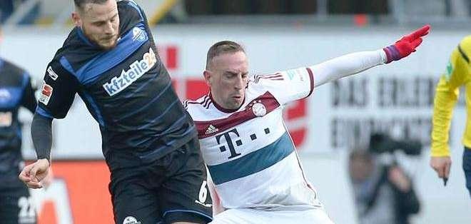 El francés en un encuentro con su equipo, el Bayern Múnich (Foto: EFE)