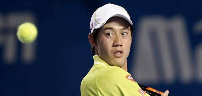 El tenista japonés Kei Nishikori, es el principal favorito del torneo mexicano (Foto: EFE)