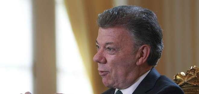 """El presidente de Colombia pidió respeto a los derechos de los opositores detenidos y """"garantías para un debido proceso"""".  Foto: EFE."""