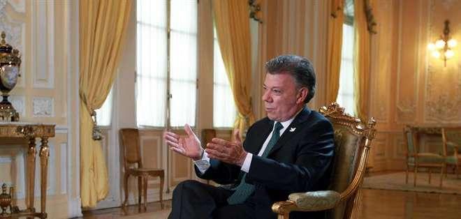 Santos fue claro al revelar su preocupación por la reciente detención del alcalde de Caracas, Antonio Ledezma. Foto: EFE.