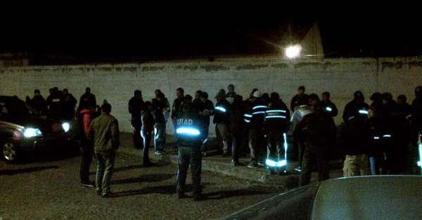 Según información del Ministerio del Interior, se detuvo a 16 personas, que fueron puestas a órdenes de las autoridades judicial