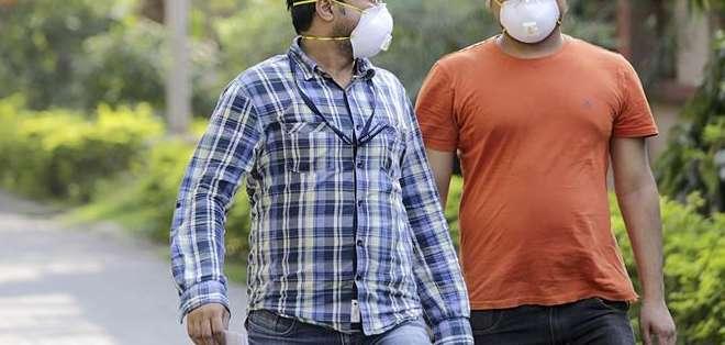 INDIA. La gripe porcina mató a 981 indios en 2009, 1.763 en 2010, 75 en 2011, 405 en 2012, 692 en 2013 y 216 en 2014.