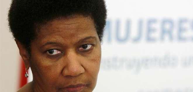 Mlambo-Ngcuka se mostró convencida de que la reunión de este viernes y sábado en Santiago será un éxito a pesar de la ausencia.
