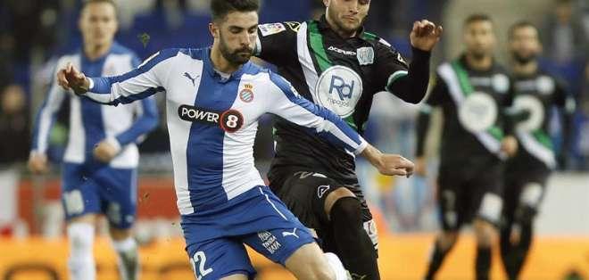 El ecuatoriano Felipe Caicedo fue reemplazado en el minuto 63 por el uruguayo Stuani.
