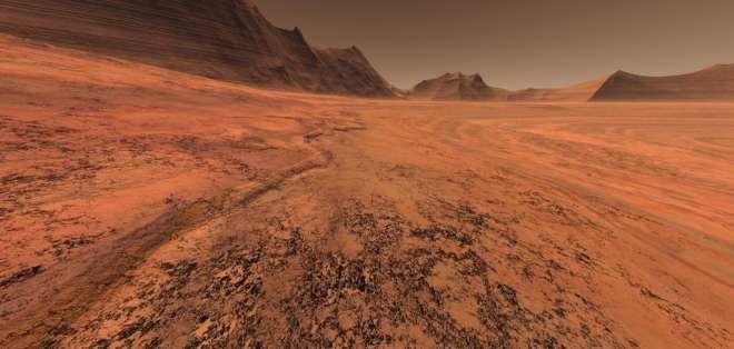 """""""Nuestra meta inmediata es hacer que los humanos lleguen a Marte"""", dijo el jefe de la Nasa."""