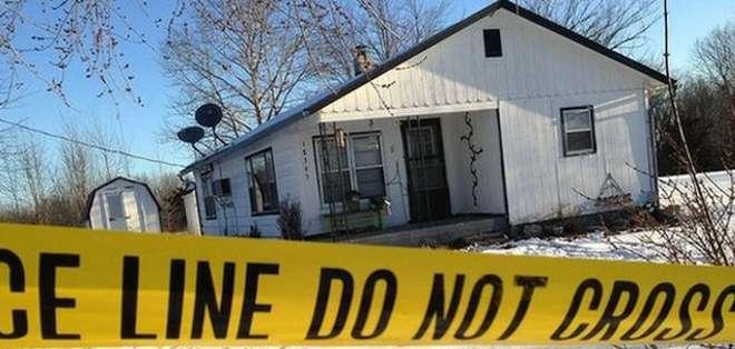 El aparente sospechoso, un hombre de 36 años de Tyrone, fue encontrado muerto en un vehículo.