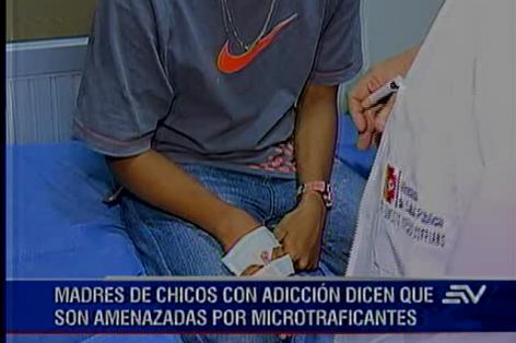 GUAYAQUIL.- Autoridades reportan más de cuatro mil trescientos casos de jóvenes con síndrome de abstinencia.