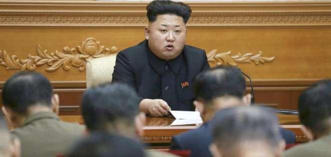 El líder de Corea del Norte asegura que deben estar preparados para la guerra con EE.UU. y sus aliados. Fotos: EFE.