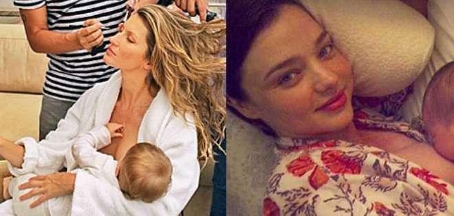 Aunque la supermodelo Gisele Bundchen y Gwen Stefani han publicado fotos amamantando a sus hijos, el término #brelfie parece haber aparecido hace pocos días.