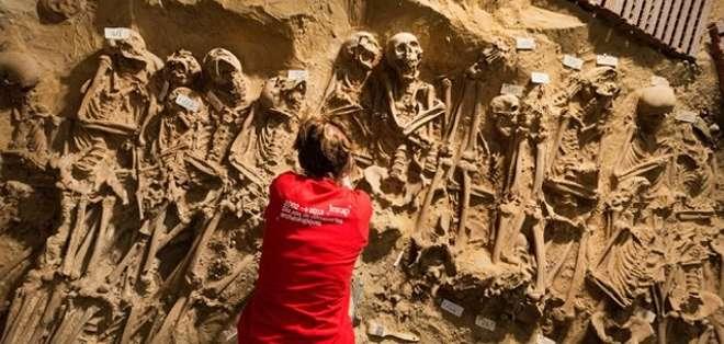 Es la primera vez que un cementerio de un hospital se excava en París.