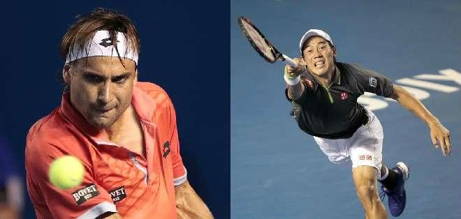 MÉXICO.- Nishikori  y Ferrer  se han enfrentado en 10 ocasiones. Fotos: EFE