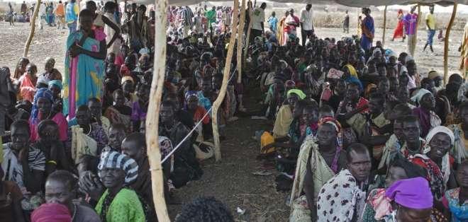"""UNICEF """"cree ahora que quizá hubo centenares de niños"""" secuestrados, afirmó en un comunicado recibido el sábado. Fotos: AFP."""
