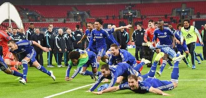 En un partido muy disputado, el Chelsea, cuyo último precedente con el Tottenham era una derrota 5-3 en enero. Foto: AFP.