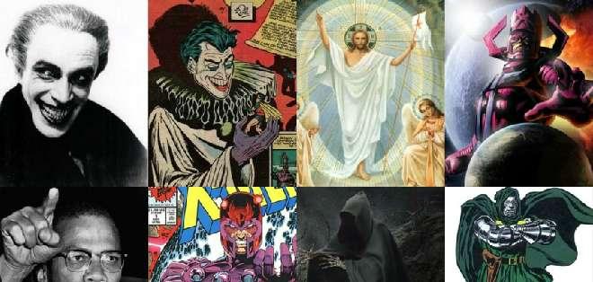 Los villanos, al igual que los superhéroes son parte del mismo mundo fantástico que vemos en cómics y películas.