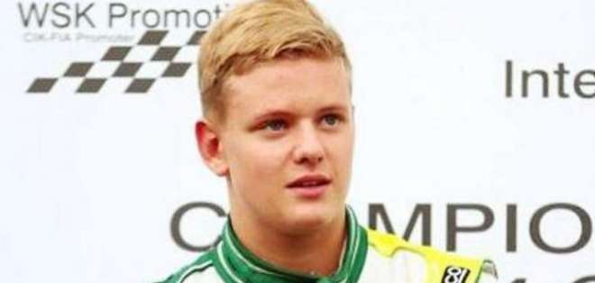 El joven piloto es campeón europeo de karting.