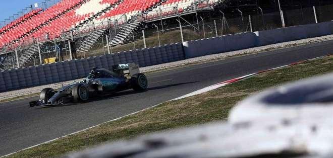 Nico Rosberg fue el más rápido de toda la pretemporada de la Fóruma 1 (Foto: EFE)
