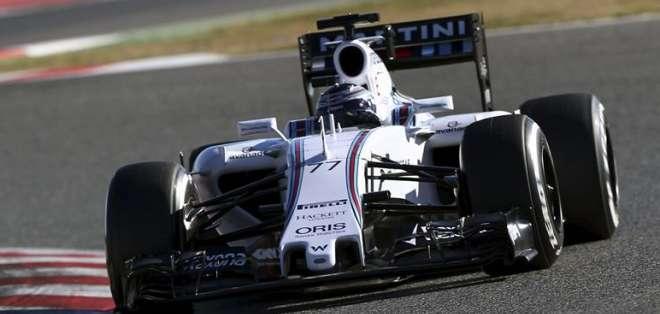 Valtteri Bottas, el mejor en la última prueba en Barcelona (Foto: EFE)