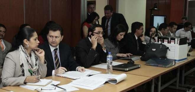 Cuando va a cumplirse un año de su detención, el exsecretario del fideicomiso AGD, Francisco Endara. Foto: API.