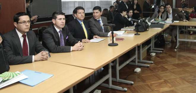 Hay 9 personas procesadas, entre ellas Duzac y Pedro Delgado.