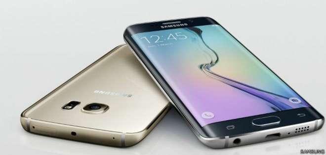 La doble curvatura que ofrece el teléfono de la firma surcoreana incorpora dos funcionalidades.