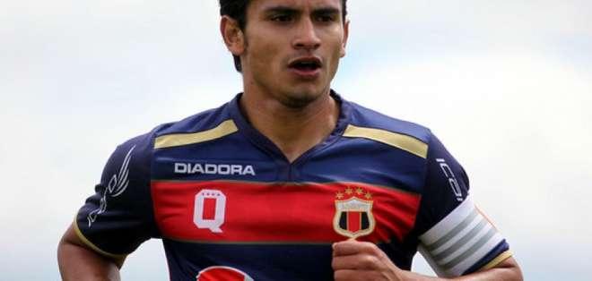 Luis Fernando Saritama será presentado este martes en el complejo de Deportivo Quito.