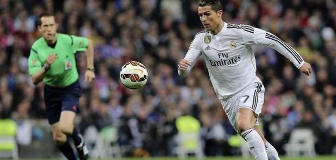 Cristiano Ronaldo es símbolo del Real Madrid. Foto: EFE.